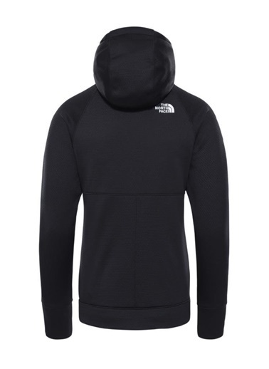 The North Face Hikesteller Midlayer Kadın Sweatshirt Siyah Siyah